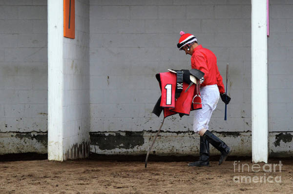 Wall Art - Photograph - At The Racetrack 7 by Bob Christopher