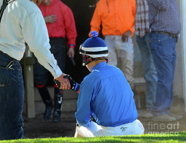 Wall Art - Photograph - At The Racetrack 9 by Bob Christopher