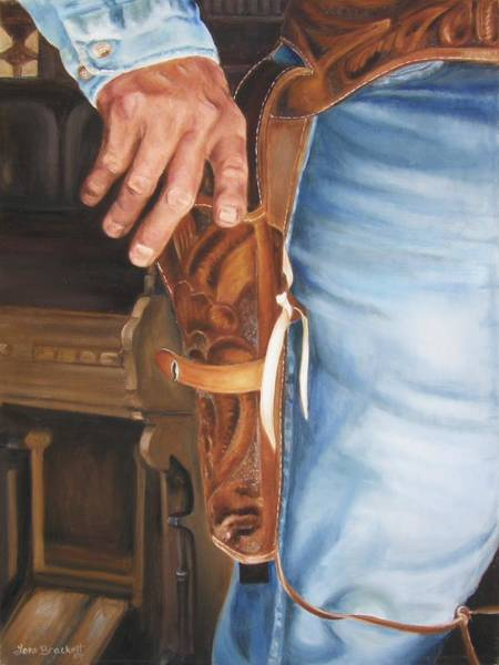 Painting - At The Ready by Lori Brackett
