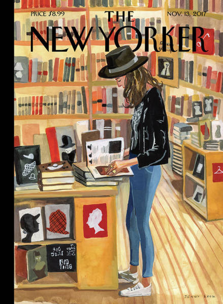 News Painting - At The Strand by Jenny Kroik