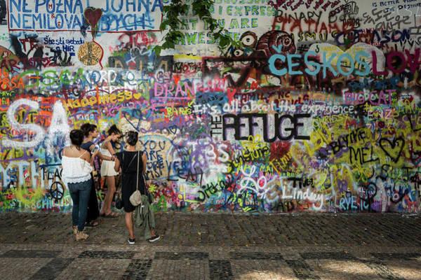 Photograph - Lennon Wall by M G Whittingham