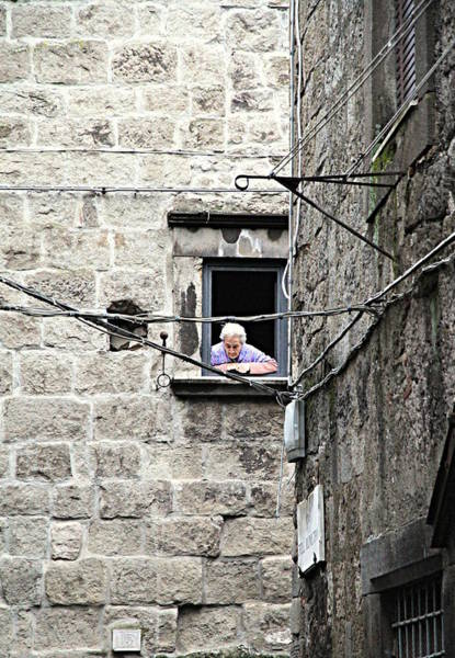 Wall Art - Photograph - At The Window by Valentino Visentini