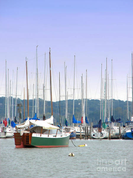 Photograph - At The Yacht Club by Todd Blanchard