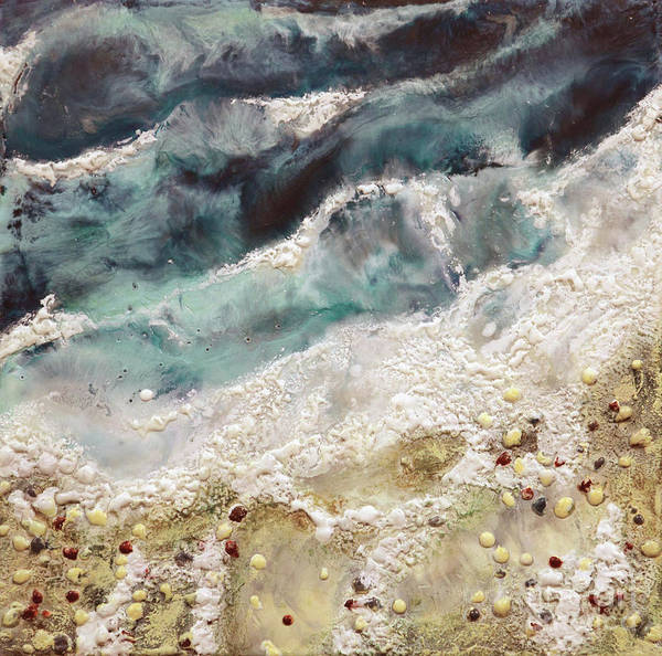 Painting - At Water's Edge Iv by Laurie Tietjen