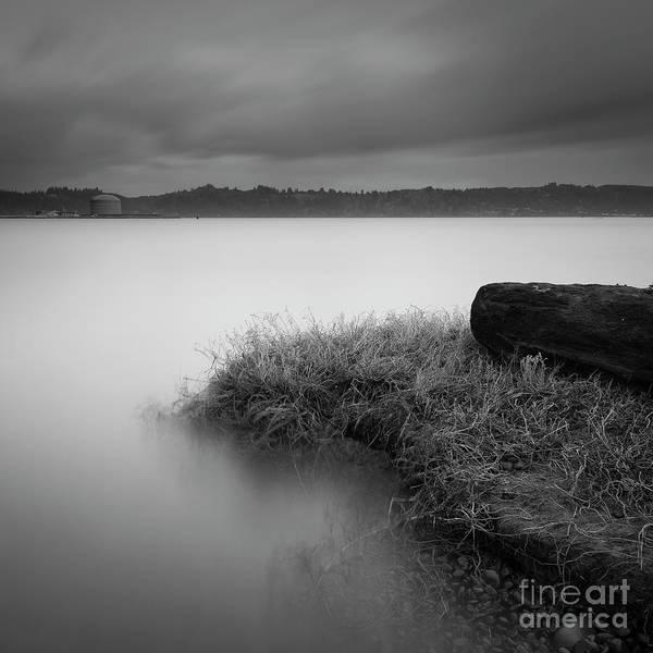 South Bank Photograph - At Yaquina Bay by Masako Metz