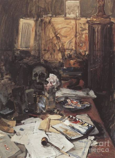 Painting - Atelier Stillleben by Celestial Images