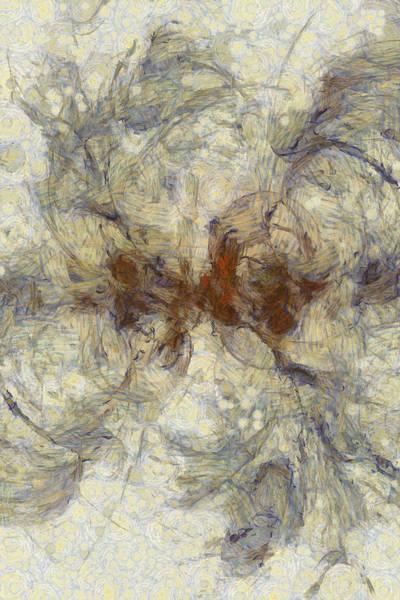 Lurksart Painting - Atelomyelia Relation  Id 16097-173620-43240 by S Lurk