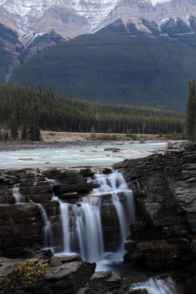 Photograph - Athabasca Waterfalls In Jasper National Park by Pierre Leclerc Photography