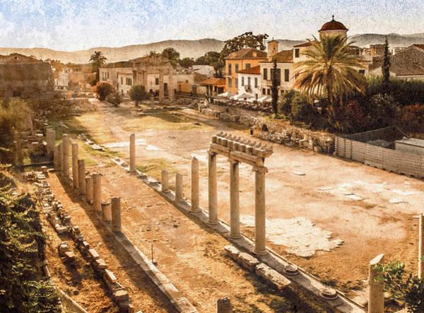 Photograph - Athens, Greece - Athenian Roman Agora by Mark Forte