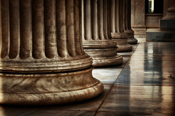 Photograph - Athens Architecture Closeup by Songquan Deng