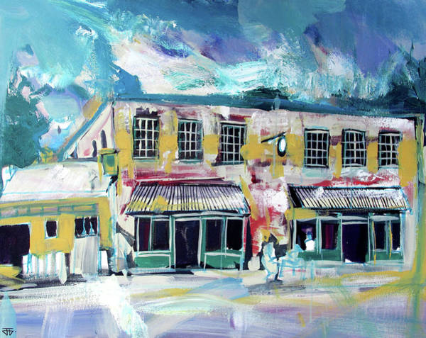 Painting - Athens Ga The Grit by John Jr Gholson