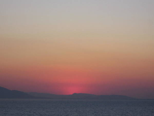 Photograph - Athens Ombre Sunset by Karen J Shine