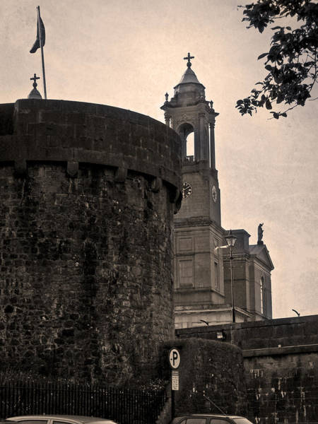Wall Art - Photograph - Athlone Castle And Church by Teresa Mucha