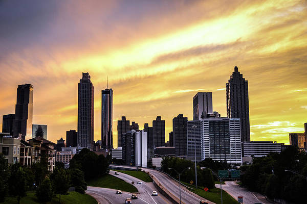 Hotlanta Photograph - A Summer Night In Atlanta by Kennard Reeves