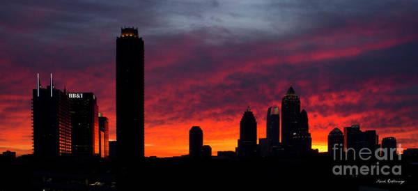 Atlanta Symphony Orchestra Photograph - Atlanta Ablaze Midtown Atlanta Sunrise Art by Reid Callaway