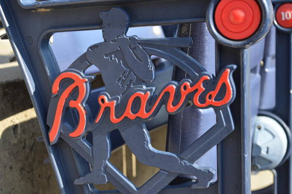 Hotlanta Photograph - Atlanta Braves Seat by Luke Pickard