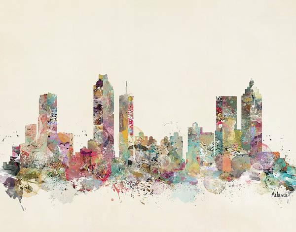 Wall Art - Painting - Atlanta City by Bri Buckley
