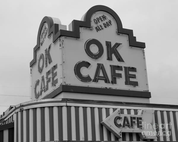 Photograph - Atlanta Classic Ok Cafe 2 Restaurant Art by Reid Callaway