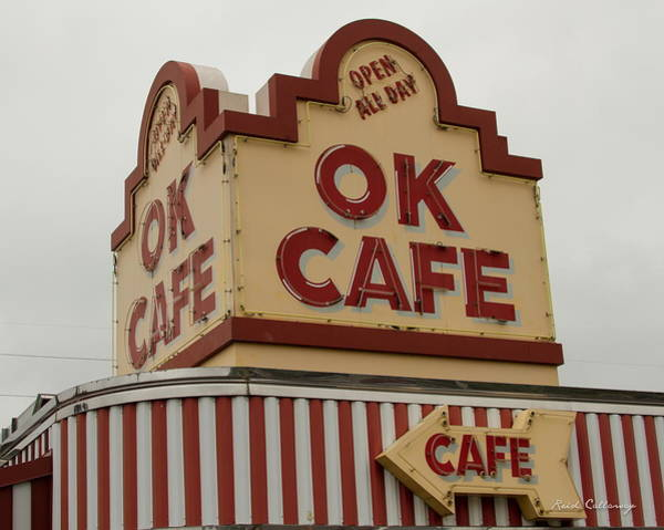 Wall Art - Photograph - Atlanta Classic Ok Cafe Atlanta Restaurant Art by Reid Callaway