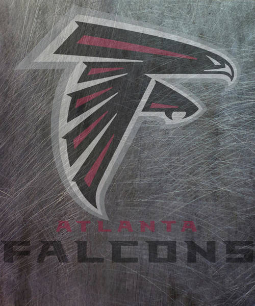 Mixed Media - Atlanta Falcons Translucent Steel by Movie Poster Prints
