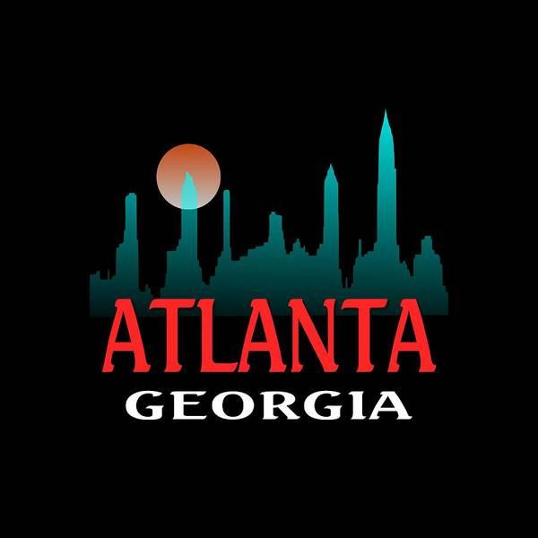 Clothing Design Mixed Media - Atlanta Georgia Design by Peter Potter