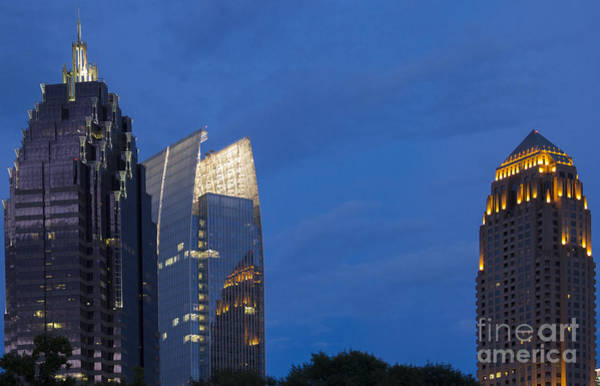 Atlanta Symphony Orchestra Photograph - Atlanta Midtown Reflections by Reid Callaway
