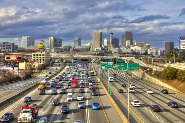 Georgia Power Company Photograph - Atlanta Moving Nicely Transportation Art by Reid Callaway