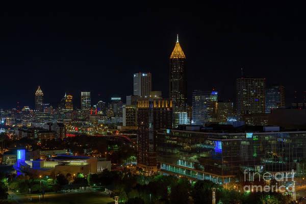 Atlanta Nights Art Print