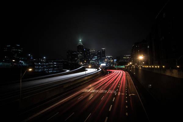 Photograph - Atlanta Nights by Mike Dunn