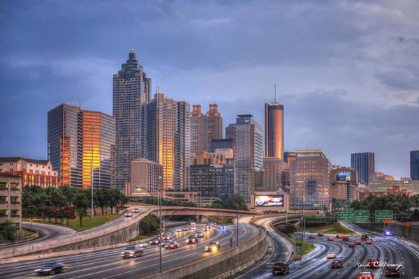 The Southern Company Photograph - Atlanta Reflections by Reid Callaway