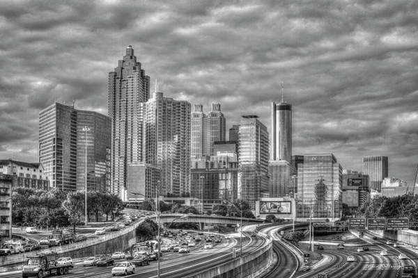 Georgia Power Company Photograph - Atlanta Reflects Downtown Sunset Reflections Art by Reid Callaway