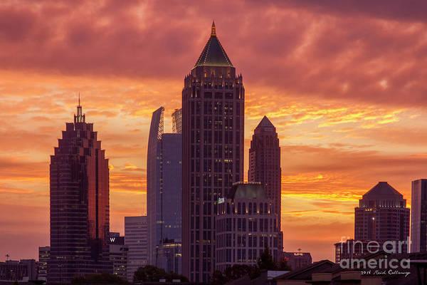 Atlanta Symphony Orchestra Photograph - Atlanta Rises Midtown Atlanta Sunrise Art by Reid Callaway