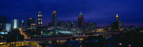 Fulton County Photograph - Atlanta Skyline After Olympics, Georgia by Panoramic Images