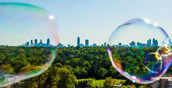 Hotlanta Photograph - Atlanta Skyline by Vanessa Burrowes