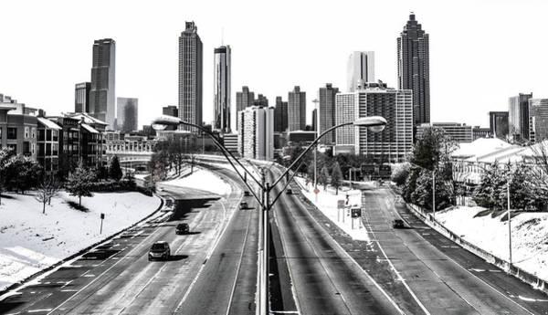 I-75 Photograph - Atlanta Snow Day by Kennard Reeves