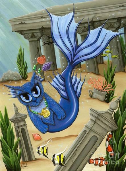 Painting - Atlantean Mercat by Carrie Hawks