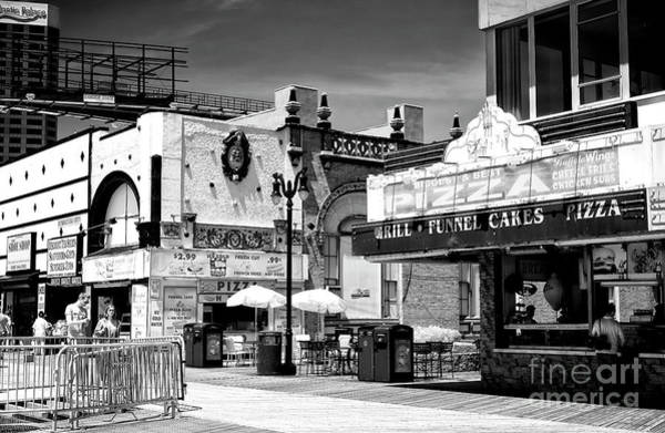 Photograph - Atlantic City Boardwalk Dining by John Rizzuto