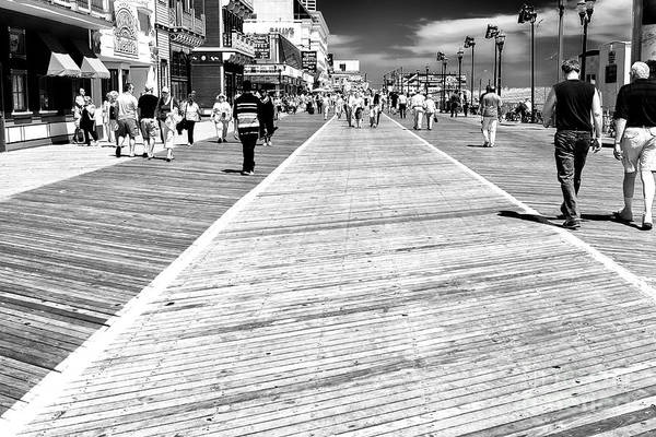 Wall Art - Photograph - Atlantic City Boardwalk Walk 2006 by John Rizzuto