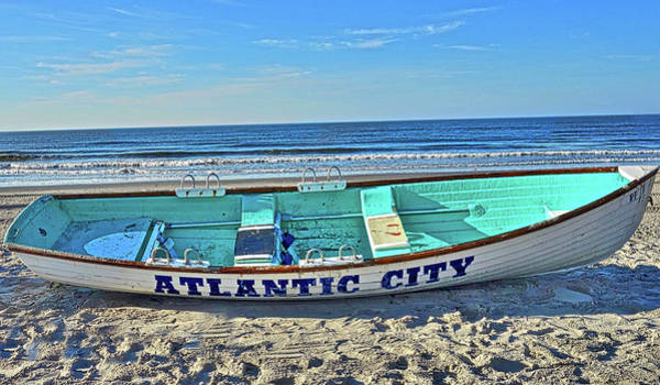 Photograph - Atlantic City Rowboat by Joan Reese