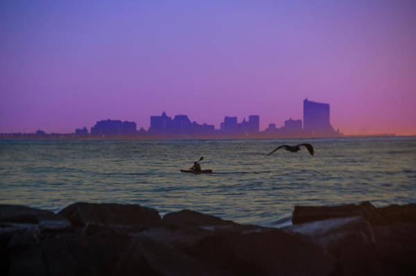 Wall Art - Photograph - Atlantic City Skyline From Ocean City by Bill Cannon
