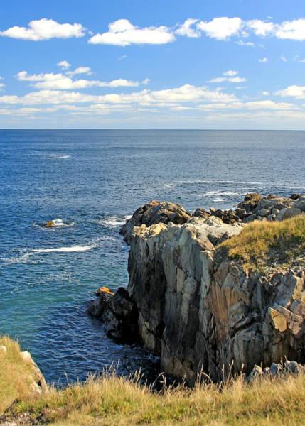 Photograph - Atlantic Ocean In Cape Breton, Nova Scotia by Tatiana Travelways