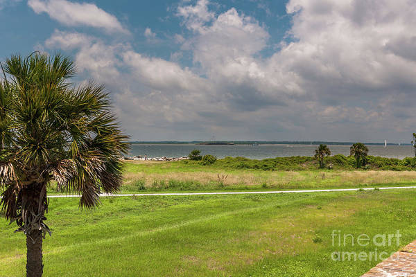Photograph - Atlantic Ocean View From Fort Moultrie by Dale Powell