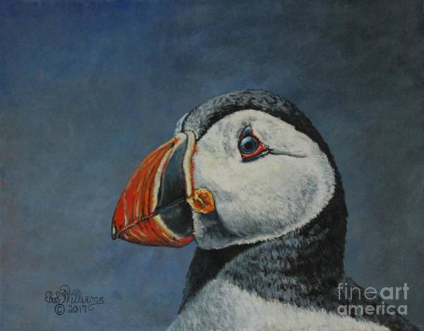 Painting - Atlantic Puffin by Bob Williams