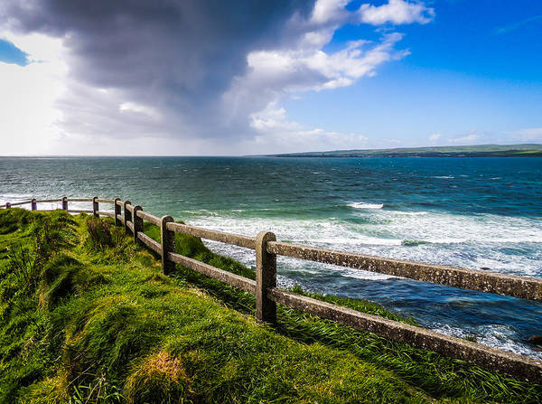 Photograph - Atlantic Storm Over Ireland's County Clare Coast by James Truett