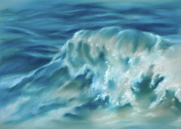 Pastel - Atlantic Wave by MM Anderson