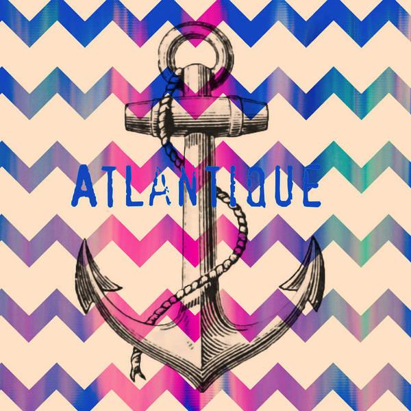 Anchor Digital Art - Atlantique Long Island Anchor by Brandi Fitzgerald