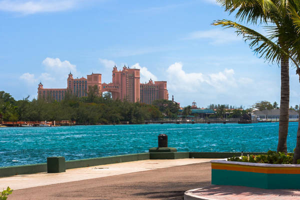 Photograph - Atlantis Across The Harbor by Ed Gleichman