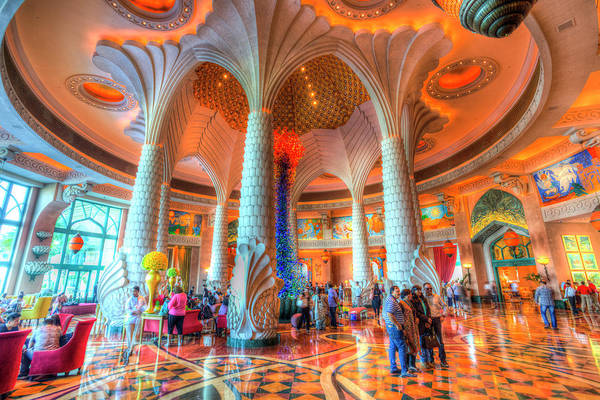 Wall Art - Photograph - Atlantis Palm Dubai Hotel Lobby by David Pyatt