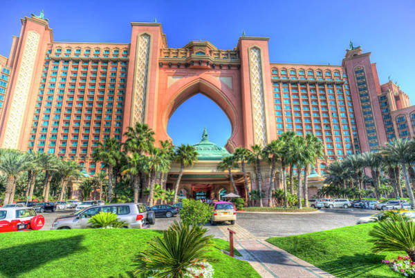 Wall Art - Photograph - Atlantis Palm Hotel Dubai by David Pyatt