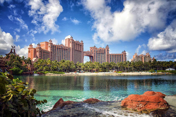 Nassau Photograph - Atlantis Resort - Paradise Island -  - Bahamas by Jon Berghoff